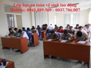 Lớp huấn luyện an toàn vệ sinh lao độngl